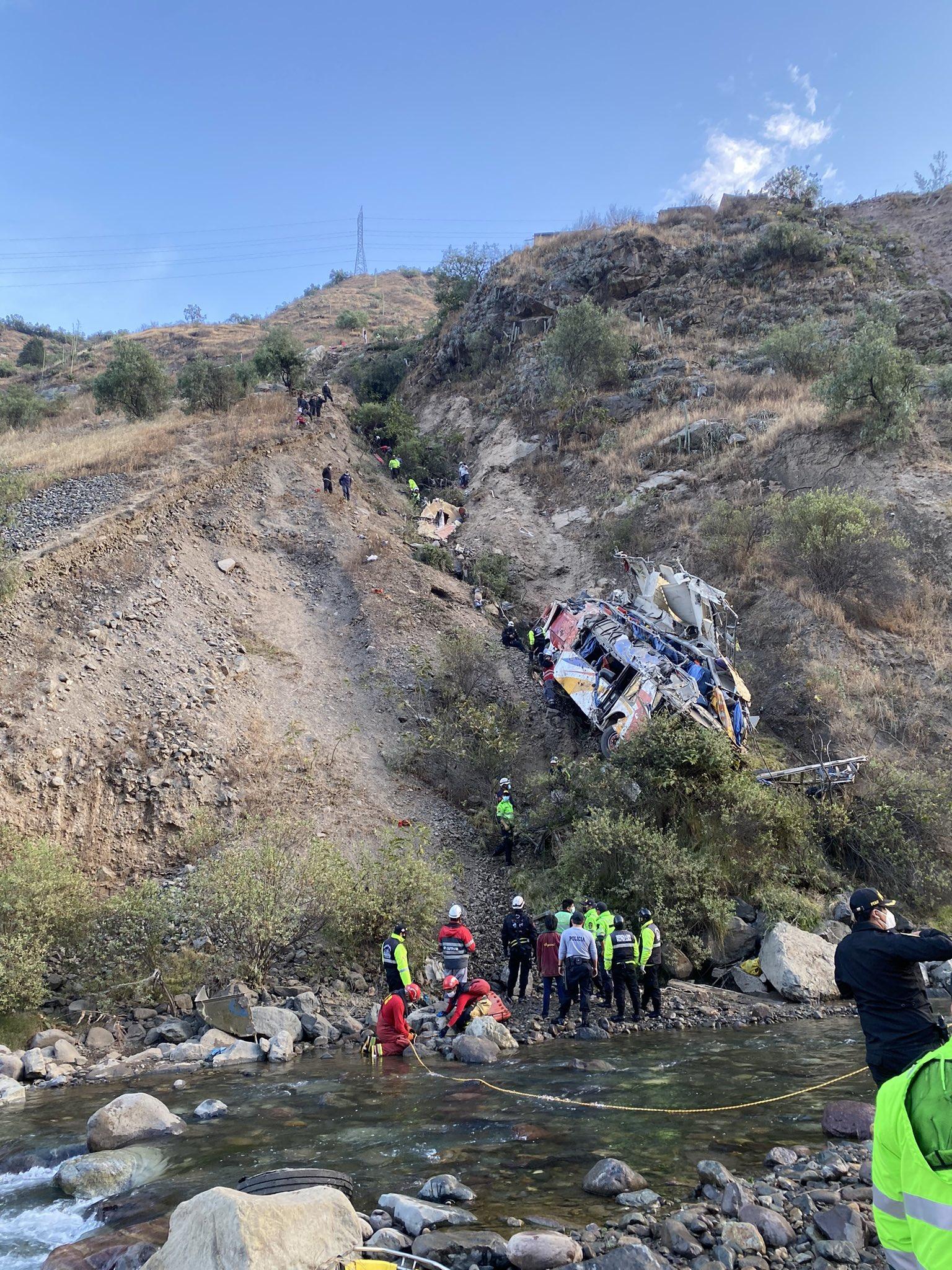 accidente en Matucana